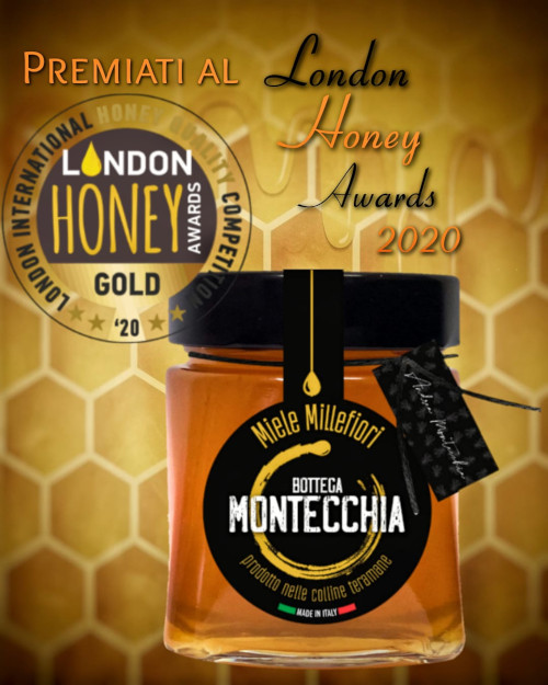 premio gold London Honey Bottega Montecchia